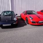 2 générations de Porsche au rendez-vous Pôle Collection du 13 mars 2021