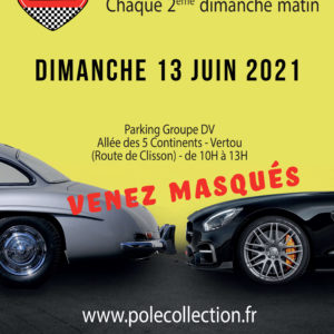 Affiche du rassemblement Pôle Collection du 13 juin